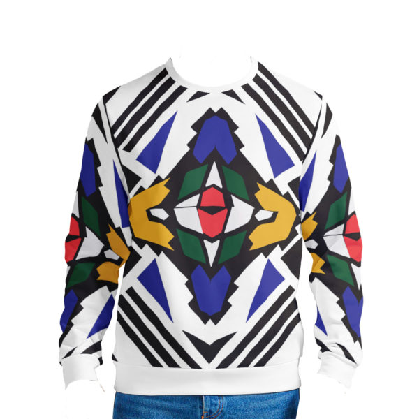 Ndebele Print Re-Imagined Sweater